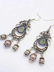 Earring Drop Earrings Jewelry Women Fashion / Vintage Party / Daily / Casual / Sports 1 pair Silver