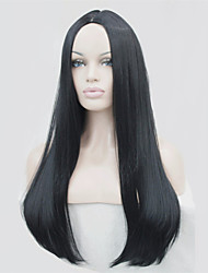 Light Blonde Long Skin Part Top Straight Wigs Synthetic Hair Wigs COLOUR CHOICES! 6COLORS!