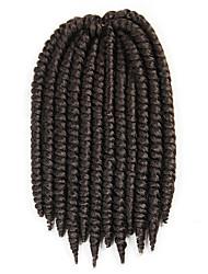 n ° 4 La Havane Tresses Twist Extensions de cheveux 12 Kanekalon 2 Brin 80 gramme Braids Hair