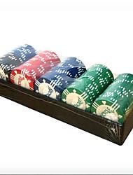 les jetons de poker de vélo costume 100 abs divertissement casino matériel