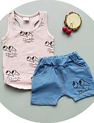 nieuwe zomer kinderkleding, jongen pak, kinderen katoenen pak,