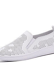 Women's Breathable Hollow Mesh Slip-on Shoes for Casual Style Female Flat Shoes for Trip/Beach