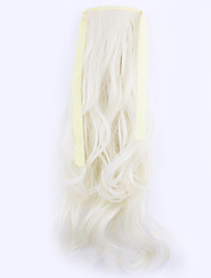 Borwn Length 50CM Factory Direct Sale Bind Type Curl Horsetail Hair Ponytail(Color 60)
