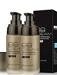 Men's Natural Concealer Liquid Foundation BB Cream Base Cream Brightening Dark Color Moisturizing Makeup for Men