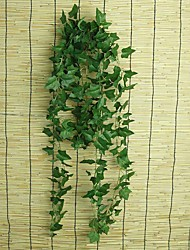 "33.5"" Artificial Plants For Decor Artificial Potato Leaf Long Vine 1pc/set"