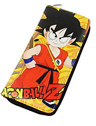 Dragon ball-GokuPele PU-Carteiras
