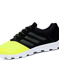 Men's Shoes Athletic Fabric Fashion Sneakers Black / Yellow / Orange