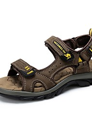 Camel Men's Nubuck Non-slip Sandals Durable River Summer Beach Wear Sandals Color Brown/Camel