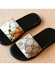 Zapatos de bebé-Sandalias-Casual-PU-Negro / Rojo