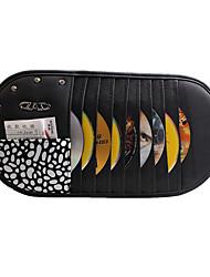 multifunctionele cd clip met strass 9 geladen anti-uv zon isolatie zonnescherm