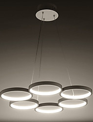 The Circular Ring Acrylic Chandelier Chandelier Style Warm