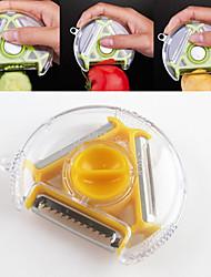 1 pièces pomme Carotte Pomme de terre Concombre Cutter & Slicer For Pour Fruit Pour légumes Acier InoxydableMultifonction Haute qualité