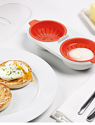 Microwave Egg Special Steaming Plate Love Breakfast Omelette Egg Box Kitchen Utensils