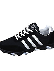 Running Shoes Men's Shoes Athletic Fabric Fashion Sneakers Black / Blue / White