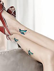 5 Tatouages Autocollants Séries bijoux / Séries animales / Séries de fleur / Séries de totem / Cartoon SeriesNon Toxic / Motif /