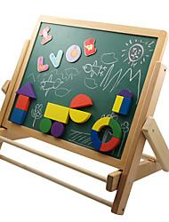 placa de escrita de madeira para crianças