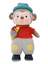 Metoo Senbao Monkey Plush Toy Doll Doll Birthday Gift Monkey Mascot Red Skateboard Treasure 35Cm