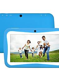 'Quad core M755 7' 8gb Google Android 5.1 de doble cámara colores de la PC de la tableta niños niños (1024 * 600 + 512 + 8gb bt)