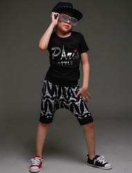 Boy's Summer Fashion Perform Street Dancing Clothes Set
