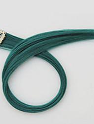 lunghezza 60 centimetri colore verde parrucca sintetica capelli diritti lunghi (colore bd)