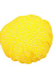Thick Dot Double Waterproof Shampoo Ladies Fashion  Satin Shower Cap Bath Hair Turban