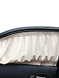 Knitted Fabrics Universal Car Window Curtain Sun Shade UV Protection Fit Most Car Side Window (51*39cm)