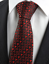 KissTies Men's Arrow Pattern Unique Tie Necktie Formal Wedding Party Holiday With Gift Box (6 Colors Available)