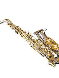 никель тела золото-стружечных саксофон регулярный бренд электронной саксофон