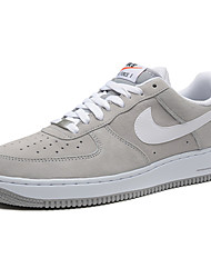 Nike Air Force 1 Round Toe / Sneakers / Casual Shoes / Skateboarding Shoes / Running Shoes Men's Wearproof Low-Top Green / Red / Gray