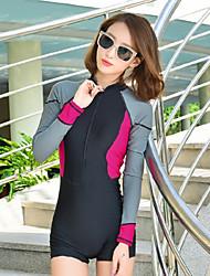 Autres Femme Tenue de plongée Etanche / Résistant aux ultraviolets Skins plongée Moins de 1.5 mm Autres Autres M / L / XL Plongée