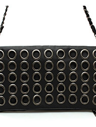Women PU Formal / Casual / Event/Party Clutch / Evening Bag Black