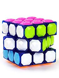 Yongjun® Smooth Speed Cube 3*3*3 Diamond Magic Cube Blue ABS