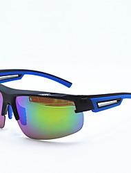 99520 brilhante filme azul escuro banhado esportes polarizados óculos ao ar livre óculos óculos de ciclismo vento vidros