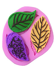 Leaves Type Candy Fondant Cake Molds  For The Kitchen Baking Molds