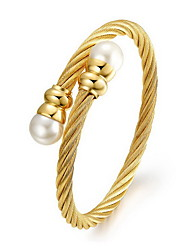 Women's Fashion Gold Plated Cuff Bracelet