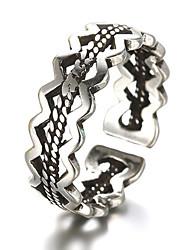 Bagues pour Première Phalange Anneaux Argent sterling Imitation de diamant Mode Ajustable Argent Bijoux Quotidien Décontracté 1pc