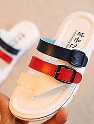 Sandalias(Rojo / Blanco) -Zapatillas-PU