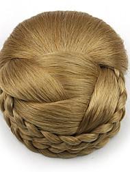 mariée crépus or bouclés europe cheveux humains capless perruques chignons sp-159 1011