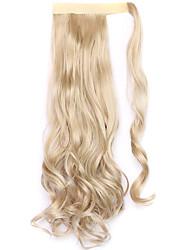 dourado comprimento 45 centímetros a nova velcro peruca de rabo de cavalo (cor 22)