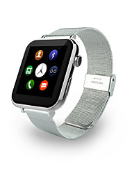 Heart Rate Monitor Smart Watch A9G with  Steel Watchband and Music Play/Phone Call/Pedometer Function