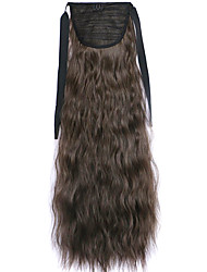 Black Deep Wave Lace Wig Corn Hot Ponytails 8