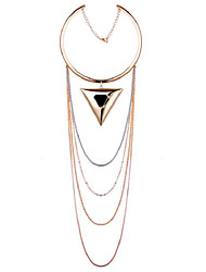 LGSP Women's Alloy Necklace Daily Non Stone-61161079