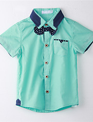 Boy's Cotton Tee,Summer Solid