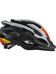 Men's Sports Bike helmet 24 Vents Cycling Cycling / Mountain Cycling / Road Cycling PVC Yellow