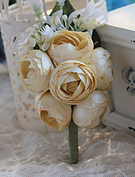 Party / Evening / Wedding  Flowers Free-form Handmade Elegant Roses Boutonnieres