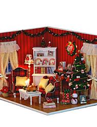 Чи весело дом поделки хижина идеальный Рождественский вечер экспортируется ручной работы идеи подарка дом
