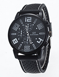 Men's Sport Watch Quartz Analog Wrist Watch Silicone Band Fashion Watch(Assorted Color) Cool Watch Unique Watch