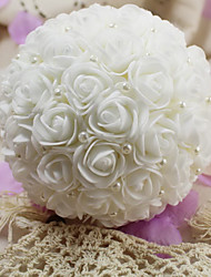 Wedding Flowers Round / Free-form Roses Bouquets