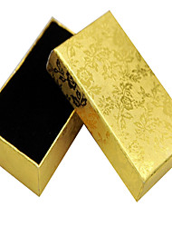 Gold Silver Necklace Jewelry Box