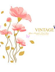 Животные / ботанический / Романтика / Натюрморт / Мода / Цветы / Винтаж / Отдых Наклейки Простые наклейки,PVC 90*60*0.1